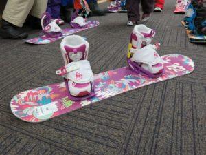 初めてのスノーボード♪
