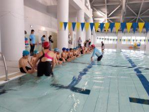 初級水泳教室スタート!