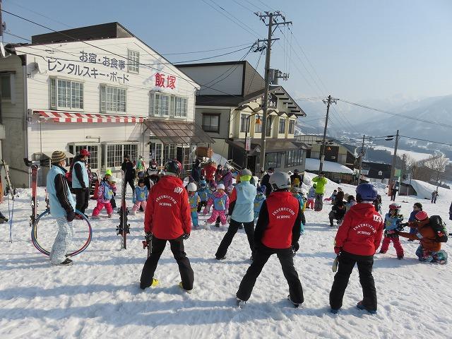 ちびっ子スキー体験ギャラリー